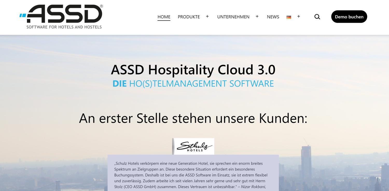 ASSD Website 2021